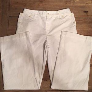 Lauren Ralph Lauren white nautical pants. Size 4
